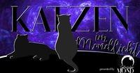 Katzen im Mondlicht presented by Gebrueder Mond@Katze Katze