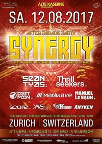 SYNERGY After Parade Party@Alte Kaserne Zürich