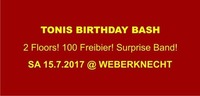 Tonis Birthday Bash@Weberknecht