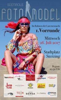 1Vorrunde Südtirol Fotomodel@Sterzing