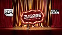 Zugabe - Do it one more time - nachtschicht@Nachtschicht