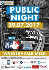Public Night 2017@Wasserhalle Melk
