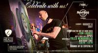DAS HARD ROCK CAFE VIENNA WIRD 3! Feiere mit Kult-Band OPUS und Künstler Tom Lohner das Jubiläum