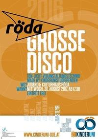 Kinderuni: Große Disco für kleine Leute@KV Röda