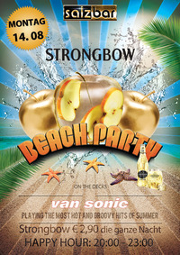 Strongbow Beach Party/DJ Van Sonic@Salzbar