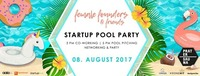 Startup Pool Party by Female Founders & Friends@Pratersauna
