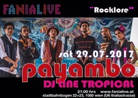 Payambó aus Kolumbien / europa tournee 2017@Fania Live