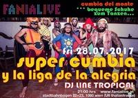 Super cumbia y la liga de la alegria /freier eintritt@Fania Live
