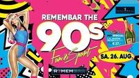 REMEMBAR the 90 s - FUN & Sports - Special@Remembar - Marcelli
