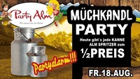 Müchkandl Party@Party Alm Hartberg