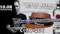 Bacardi Feeling mit DJ X-TREME@Discothek Concorde