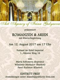 Arien und Romanzen@Festsaal im Hotel Imperial