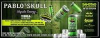 Pablo Skull Tequila Energy - Tequila, nur halt Geiler!@oceans House Club