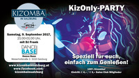 KizOnly Party - die Kizomba Party der Stadt@Dance Base