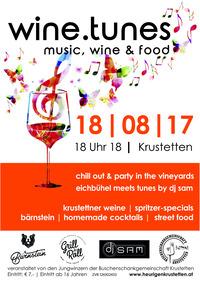 wine.tunes | music, wine  food@Weingärten der Riede Eichbühel
