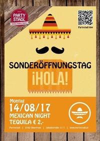 Mexican Night@Partystadl