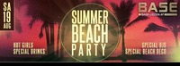 Summer Beach-Party@BASE