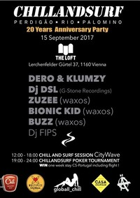20 YEARS Chillandsurf PARTY@The Loft