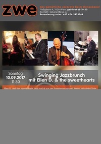 Swinging Jazzbrunch mit Ellen D. & the sweethearts@ZWE