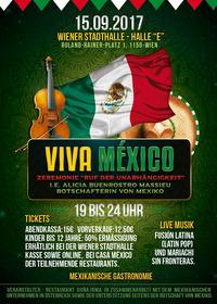 VIVA México! - Fiesta Independencia@Wiener Stadthalle