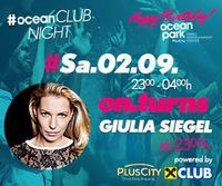 ocean CLUB NIGHT mit DJane Giulia Siegel@ocean park PlusCity