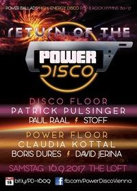 Return of the ϟ POWER DISCO@The Loft