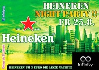 Heineken Night Party@Infinity Club Bar