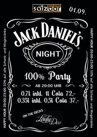 Jack Daniel`s Night/Djane Lady Dee@Salzbar