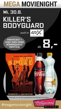 MEGA MovieNight: MEGA MovieNight: Killer´s Bodyguard@Hollywood Megaplex