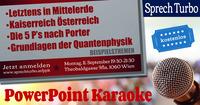PowerPoint Karaoke Wien@Mon Ami