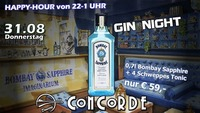 GIN Night! mit DJ Mike Houser@Discothek Concorde