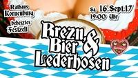 Brezn, Bier & Lederhosen - Ozapft is!@Rathaus Café-Bar