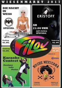 Das FILOU-Partyzelt am Bleiburger Wiesenmarkt@Filou