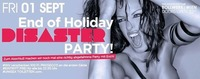 End of Holiday – Disaster Party!@Bollwerk