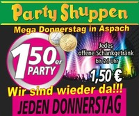Mega Donnerstag in Aspach