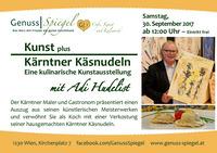 Das Kleinkunst-Café GenussSpiegel präsentiert: Eine kulinarische Kunstausstellung@Genuss-Spiegel - Café, Kunst & Kulinarik