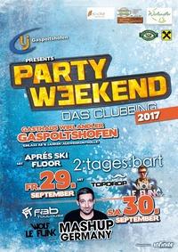 Party Weekend 2017 - Das Clubbing