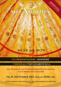Mit Ananda  CD Präsentation@Schlosstenne Burgstall Wies