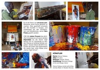 Vernissage: Osman Fattawu - Ghana in Bildern by ART-Seven@academy Cafe-Bar