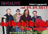 Ostbeatbend Balkan Gypsymusic@Fania Live