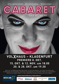 Cabaret - Das Musical Spieltag 4@Volxhaus - Klagenfurt
