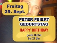 Peter feiert Geburtstag@Mausefalle