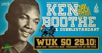 KEN Boothe (Mr Rocksteady) & Dubblestandart - So 29.10. WUK@WUK