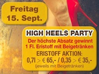 High Heels Party@Partymaus Wörgl