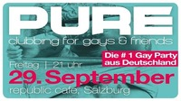 PURE - clubbing for gays & friends at republic café@Republic