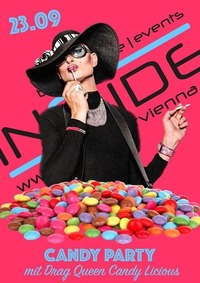 Candy Party mit Drag Queen Candy Licious@Inside Bar