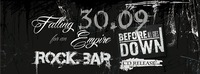 Falling for an Empire (CD Release) & Before all goes Down live@rock.BAR@rock.Bar