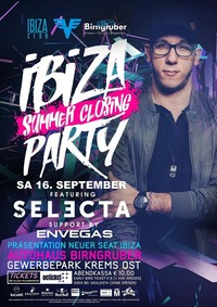IBIZA ★ Summer Closing ★ PARTY feat. DJ Selecta@Autohaus Birngruber