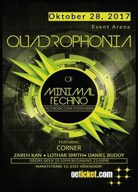 Quadrophonia of Minimal Techno@Event Arena