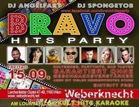 BRAVO Hits Party at Weberknecht // 15.09.2017@Weberknecht